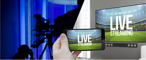 Live TV streaming and broadcasting